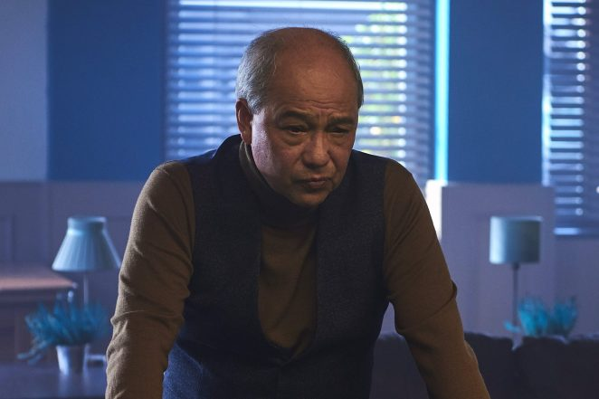 """David Yip as Vince Qiang in """"Break"""""""