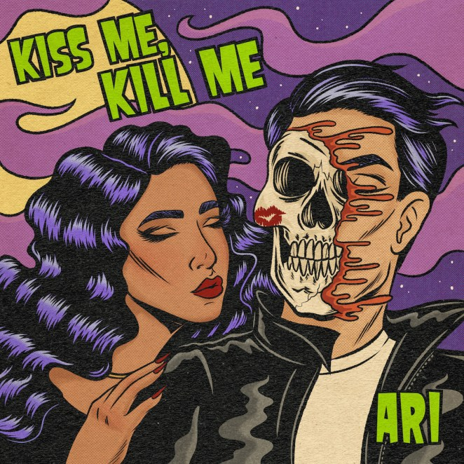 "ARI - ""Kiss Me, Kill Me"" EP artwork"