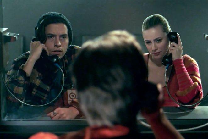 Jughead and Betty visit Stonewall Prep student Brett in prison