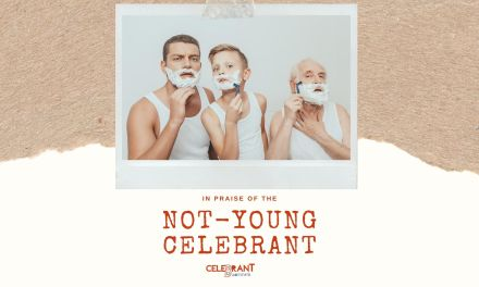 In praise of the not-young celebrant