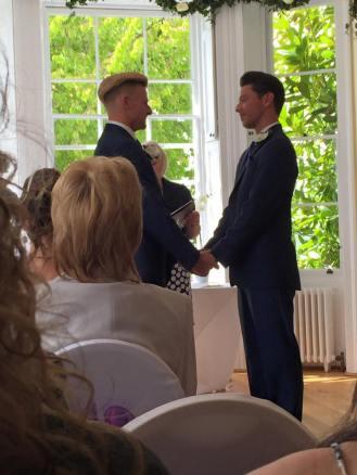 Mitch and James Wedding 1