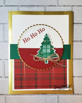 Perfectly Plaid ginny harrell stampin' up