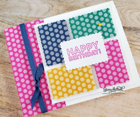 posted for you. stampin' up. ginny harrell