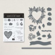 Always in My Heart Stamp set