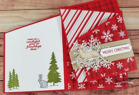 Peaceful Deer stampin' up! ginny harrell christmas