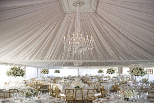 Decorate A Tent For A Party!