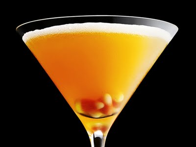 Candy Corn tini and other Halloween Cocktail recipes