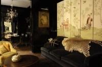 Black and Gold Interiors - Celebrate & Decorate