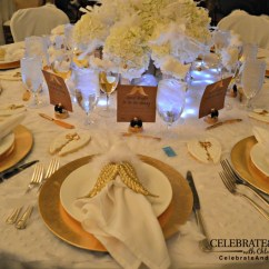 Gold Velvet Chair Silver Covers Wedding Amazing Hollywood Tablescapes From Bash Conference - Celebrate & Decorate