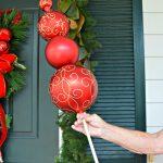 Diy Christmas Ornament Topiary Celebrate Decorate