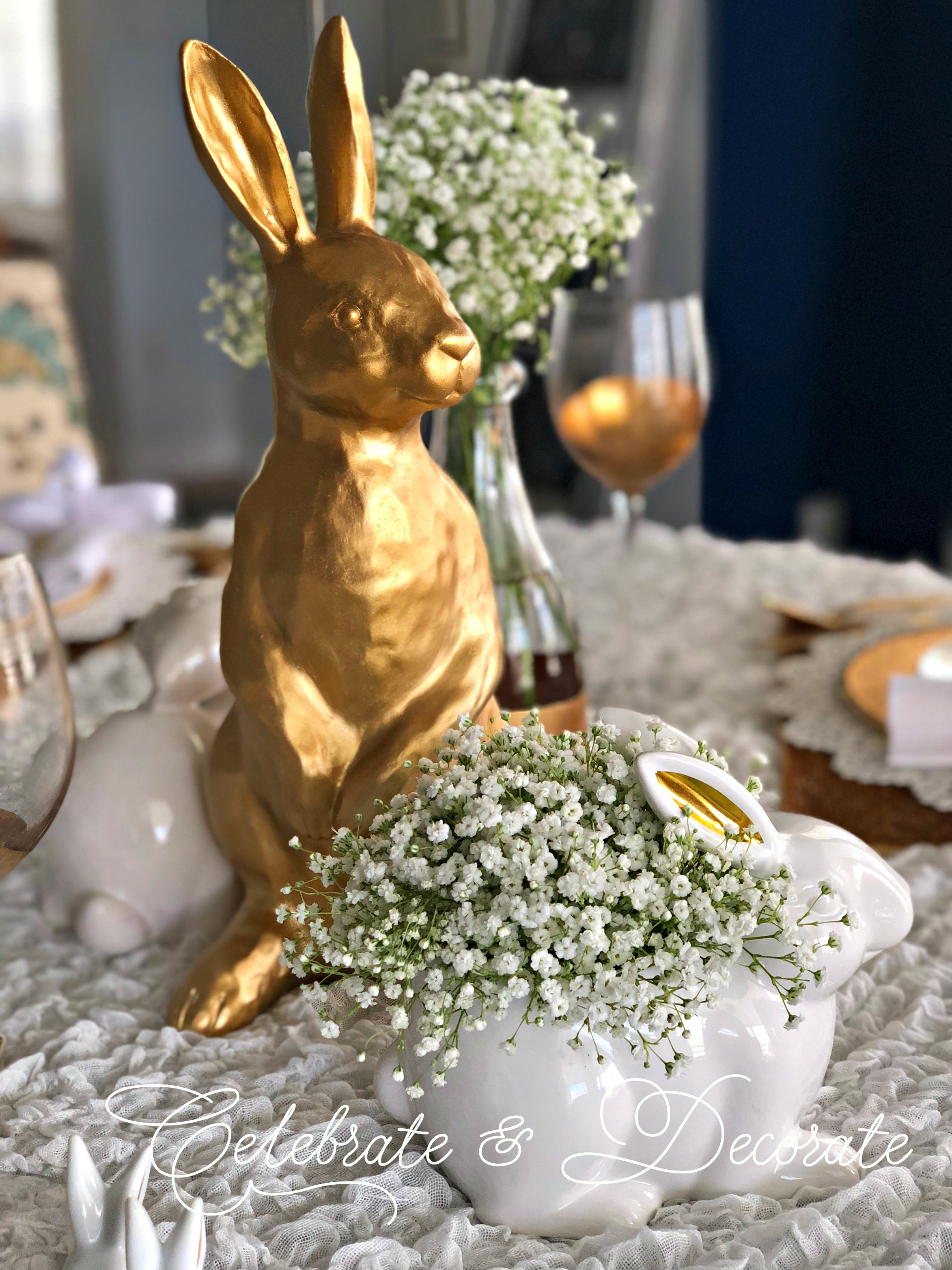 Spring Into an Easter Table Blog Hop  Celebrate  Decorate
