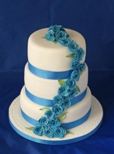 Celebrate-Cakes-Blue-roses-wedding-cake-3