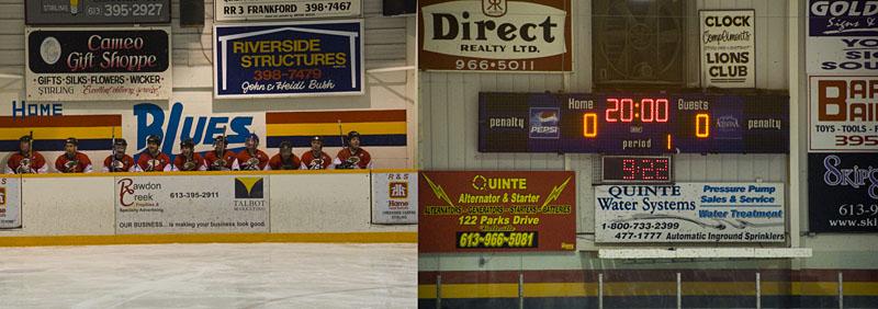 hockey-bench