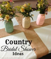 Country Bridal Shower Ideas | Celebrate Every Day With Me