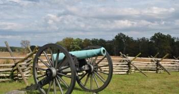 Cannon in Gettysburg