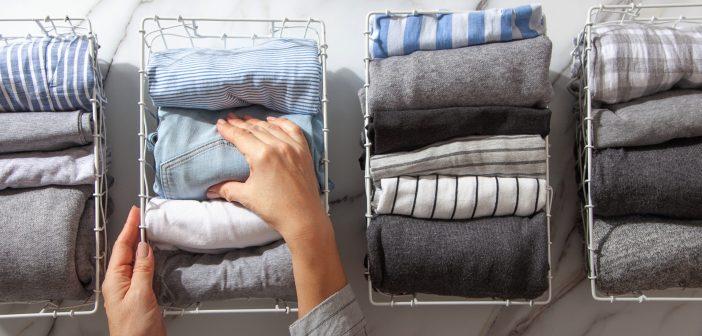 Organized clothes