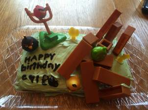 Caleb's cake