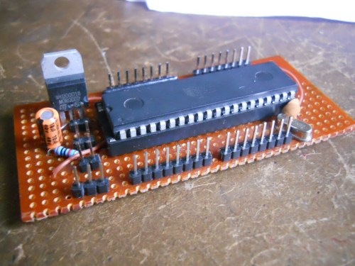 small resolution of why don t you make your own board for working on your projects i made a simple 8051 development board for prototyping my projects