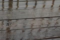 Rain on the balcony