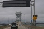 The drawbridge portion