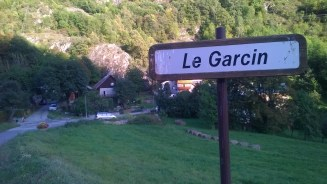 The hamlet where I stayed in France.