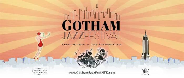 Gotham Jazz Festival Invitation