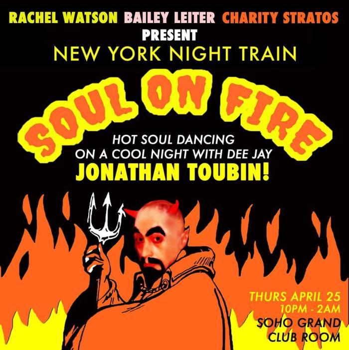 NY Night Train Soul on Fire! Hot soul dancing w/Jonathan Toubin