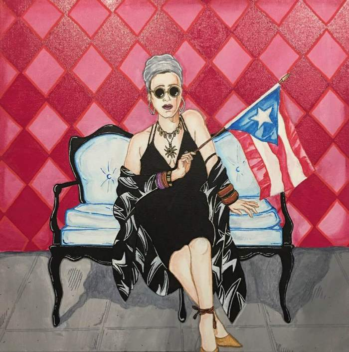Reflections Of A Nuyorican: Art by Nelson Host Santiago