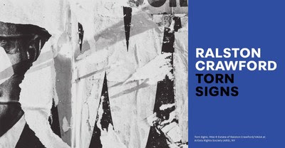 """Ralston Crawford: Torn Signs"""