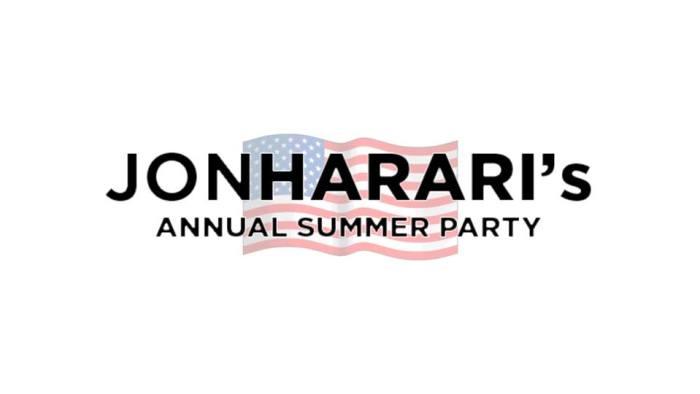 Jon Harari's Annual Summer Party