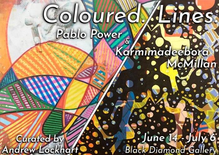 Karmimadeeborah McMillan & Pablo Power - Coloured. Lines