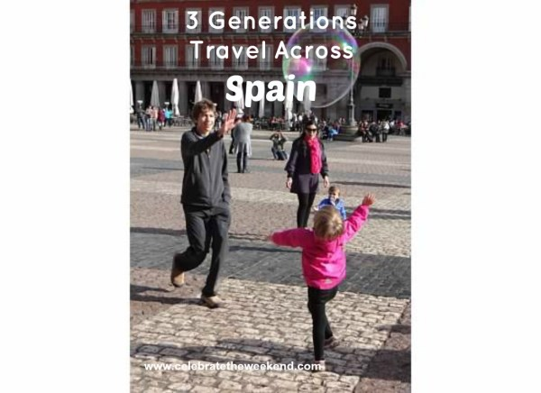 3 Generations Travel Across Spain: a day by day family itinerary