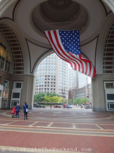 Arch at Rowes Wharf