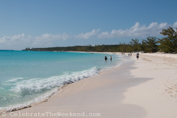 Beach at the Half Moon Cay