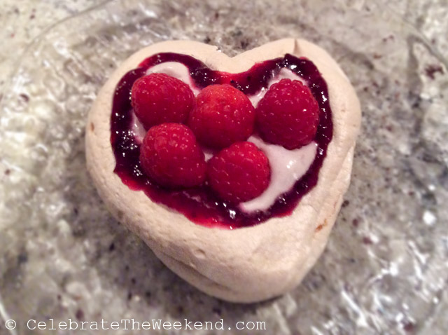 Treat your kids to some Home Made Meringue Hears this Valentine