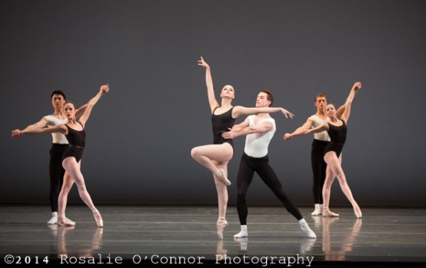 "Boston Ballet's production of George Balanchine's ""Episodes"", ©The George Balanchine Trust"