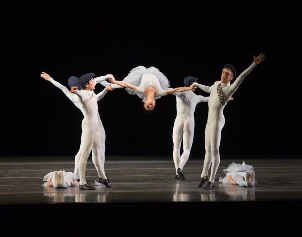 Photo Courtesy: Boston Ballet.  Jerome Robbins: The Concert (part of the Thrill of Contact Program). Photo by Gene Schiavone.