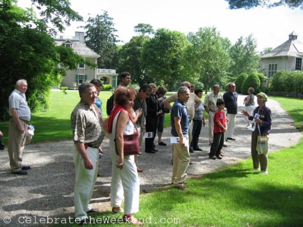 A day trip to the Berkshires, MA for 30 friends and family