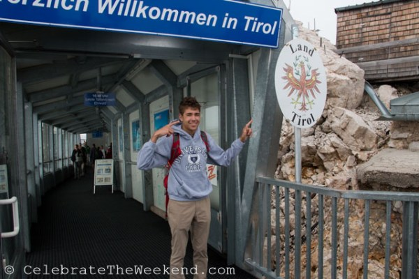 Trip to Zugspitze mountain top in Germany, from a teen's perspective