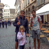 Road Tripping family enjoys a 6-hour stop over in Strasbourg, France, with Strasbourg Pass