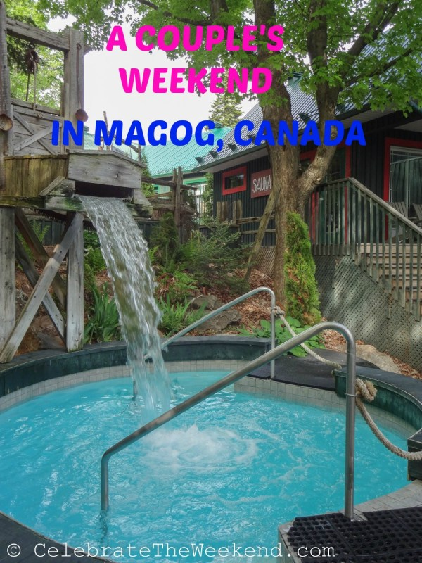 A couple's weekend escape to Magog, Canada