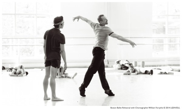 Forget what you know about dance and experience the Artifact, ballet by William Forsythe, by Boston Ballet.