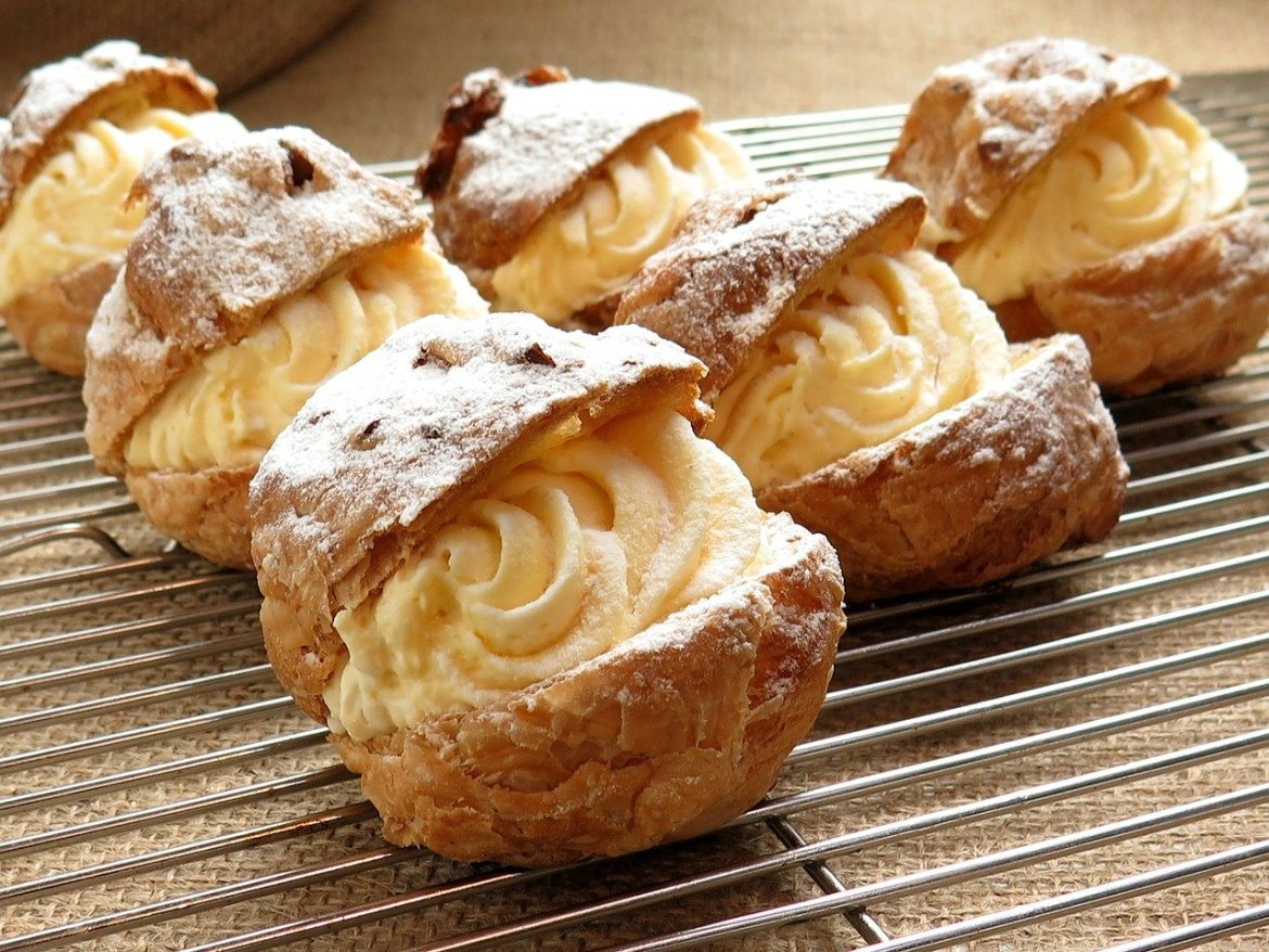 Cream Puff Day ~ January 2nd
