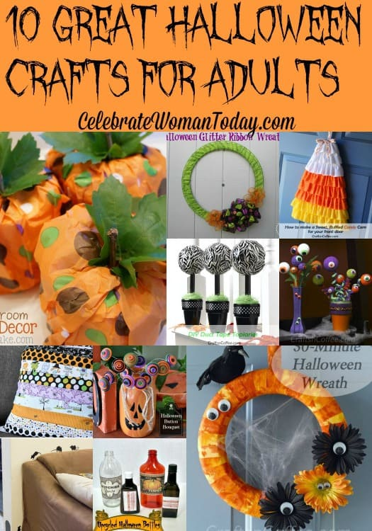 10 Easy Halloween Crafts For Adults To Be Inspired By