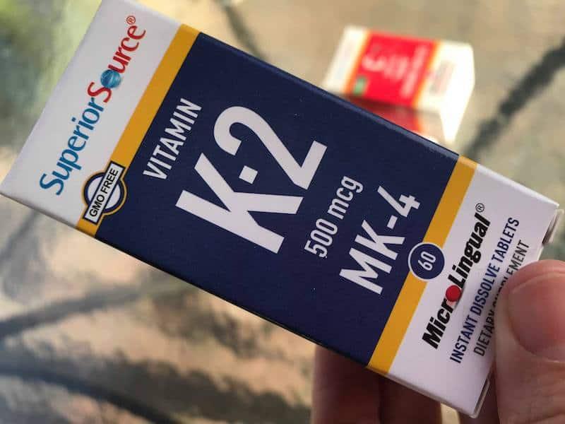 Superior Source Vitamin K sublingual instant dissolve tablets