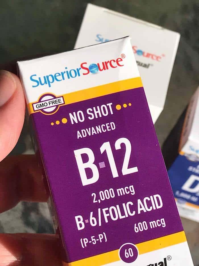 Superior Source Vitamins, Vitamin B12