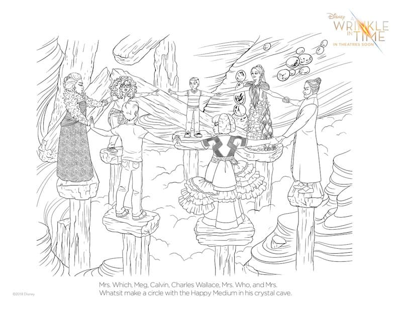 A Wrinkle In Time Activities PDF #WrinkleInTime #HeartThis