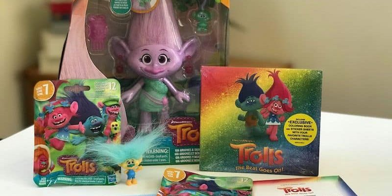 trolls party song list