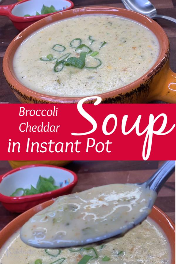 Creamy Broccoli Cheddar soup easy seasonal recipe