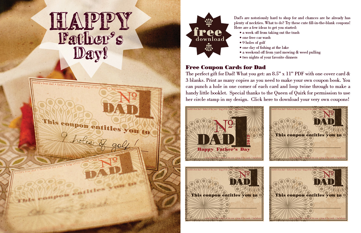 free printable father s day fill in the blank coupons